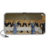 St. Dominic and his Companions Fed by Angels iPhone Speakers