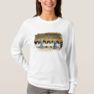 St. Dominic and his Companions Fed by Angels T-Shirt