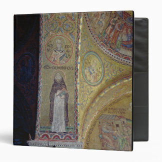 St. Dominic and St. Nicholas, mosaic in the atrium 3 Ring Binder