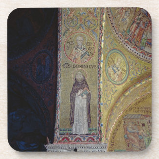 St. Dominic and St. Nicholas, mosaic in the atrium Drink Coasters
