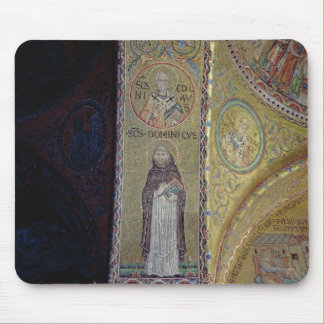 St. Dominic and St. Nicholas, mosaic in the atrium Mouse Pad