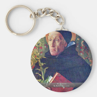 St. Dominic By Bellini Giovanni Key Chain
