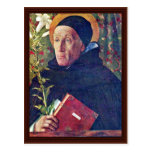 St. Dominic By Bellini Giovanni Postcard