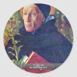 St. Dominic By Bellini Giovanni Stickers