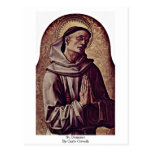 St. Dominic By Carlo Crivelli Post Cards