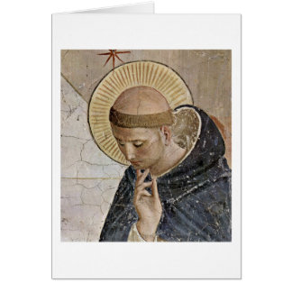 St. Dominic By Fra Angelico Cards