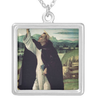 St. Dominic, c.1498-1505 Silver Plated Necklace