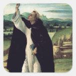 St. Dominic, c.1498-1505 Square Sticker