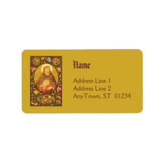 St. Dominic de Guzman (PM 02) NB Address Label #1b