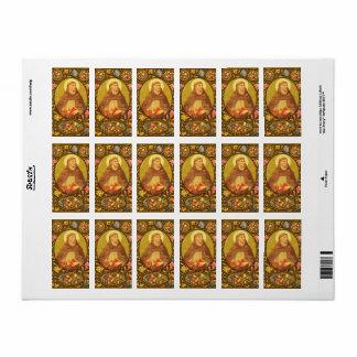 St. Dominic de Guzman (PM 02) Sticker Label #1