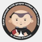 St. Dominic of Guzman Classic Round Sticker