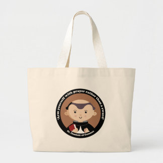 St. Dominic of Guzman Large Tote Bag