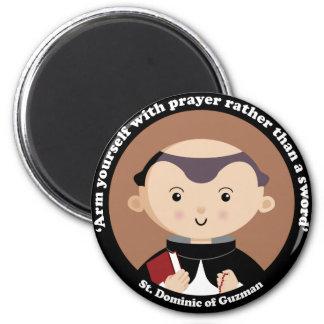 St. Dominic of Guzman Refrigerator Magnet