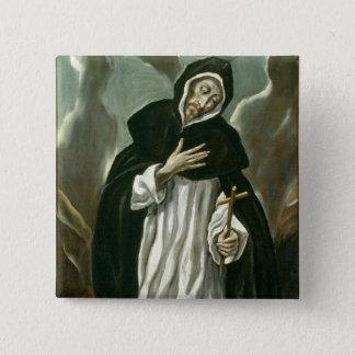 St.Dominic of Guzman Pinback Button