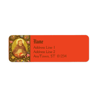 St. Dominic (PM 02) Full Bleed Return Address #2a Label