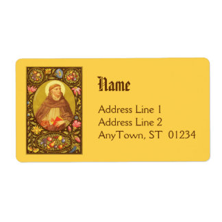 St. Dominic (PM 02) NB Shipping Label #1c
