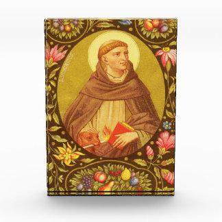 St. Dominic (PM 02) Vertical Acrylic Plaque #2