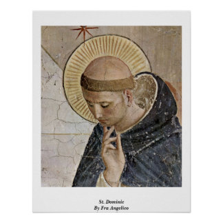 St Dominic por Fra Angelico Póster
