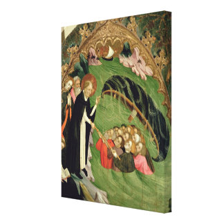 St. Dominic Rescuing Shipwrecked Canvas Print