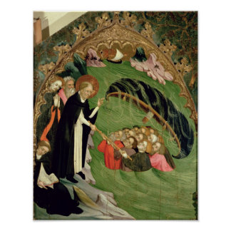 St. Dominic Rescuing Shipwrecked Poster