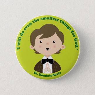 St. Dominic Savio Button