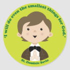 St. Dominic Savio Classic Round Sticker