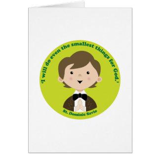 St. Dominic Savio Greeting Card