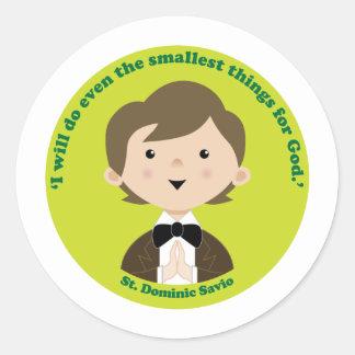 St. Dominic Savio Stickers