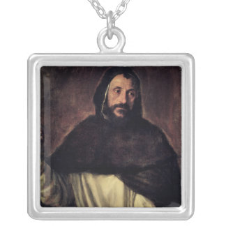 St. Dominic Silver Plated Necklace
