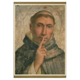 St. Dominic Wood Poster