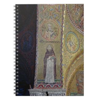 St Dominic y San Nicolás, mosaico en el atrio Libros De Apuntes