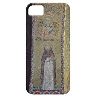 St Dominic y San Nicolás, mosaico en el atrio Funda Para iPhone 5 Barely There