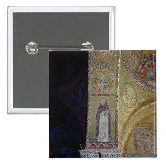 St Dominic y San Nicolás, mosaico en el atrio Pin Cuadrada 5 Cm
