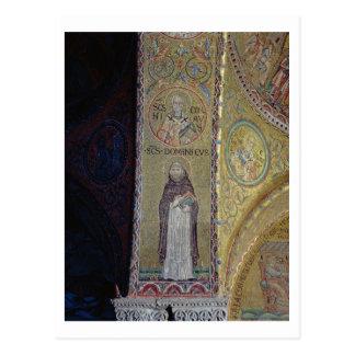 St Dominic y San Nicolás mosaico en el atrio Postales