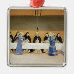 St Dominic y sus compañeros FED por ángeles Ornamento Para Arbol De Navidad