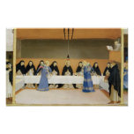 St Dominic y sus compañeros FED por ángeles Posters
