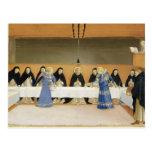 St Dominic y sus compañeros FED por ángeles Tarjetas Postales