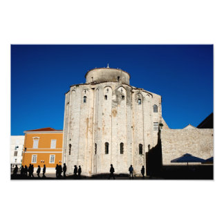 St. Donatus Church in Zadar Art Photo