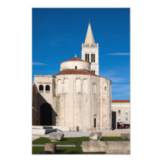 St. Donatus Church in Zadar Photo Art