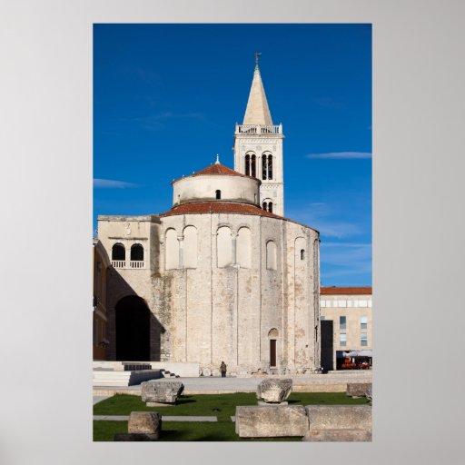 St. Donatus Church in Zadar Poster