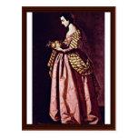 St. Dorothy de Zurbarán Francisco De Tarjetas Postales