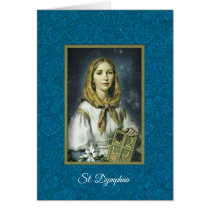St. Dymphna Anxiety Mental Health Nervousness