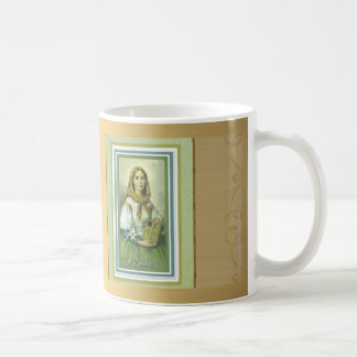 St. Dymphna GOD BLESS YOU w/prayer Coffee Mug