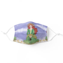 St. Dymphna Mental Health Support Adult Cloth Face Mask