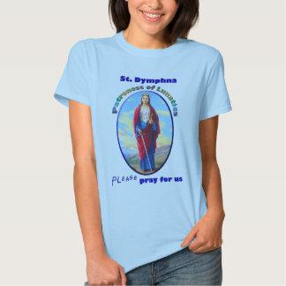 St. Dymphna - Patroness of Lunatics T-shirt