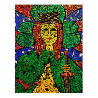 St. Dymphna Postcard