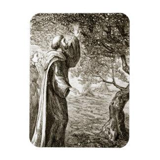 St. El Columba cambia la fruta amarga en el dulce, Imán Rectangular