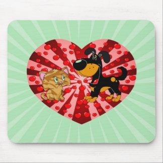 St. El día de San Valentín Alfombrillas De Ratones