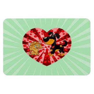 St. El día de San Valentín Iman Flexible