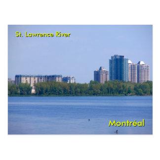 St. el río Lawrence Postal